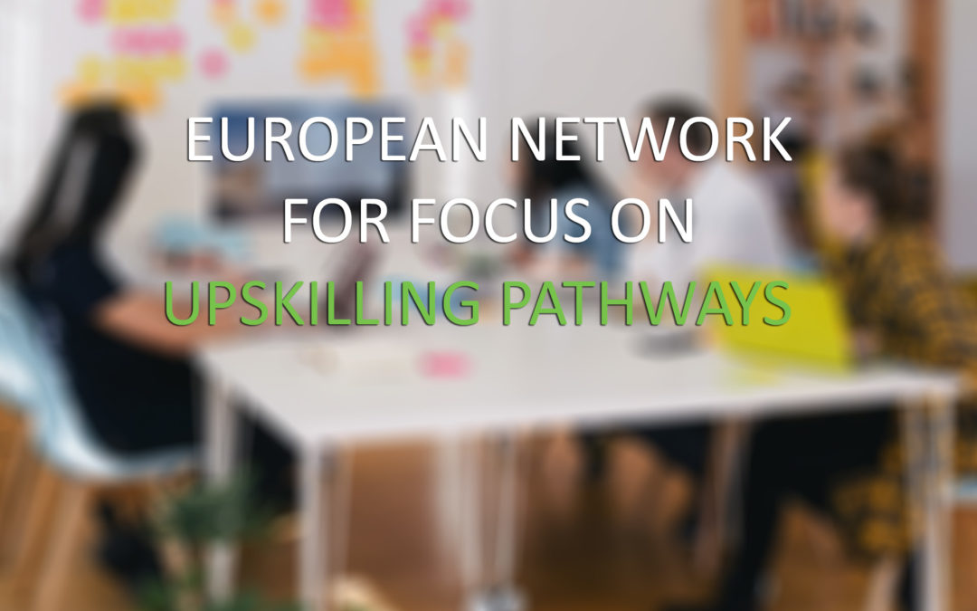 "Euroform RFS è partner nel progetto europeo ""European Network for Focus on Upskilling Pathways"""