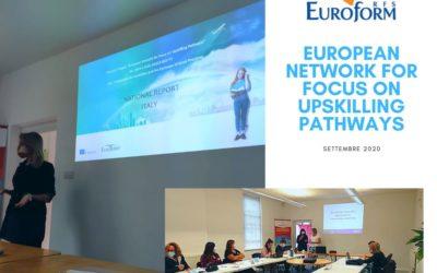 European Network for Focus on Upskilling Pathways : staff training
