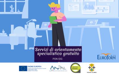 Consulenza per servizi, gratuiti, di orientamento specialistico. Programma Pon Iog
