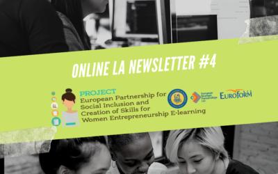 The fourth newsletter of the Erasmus+ KA2 project Women-entrepreneurship.eu is online