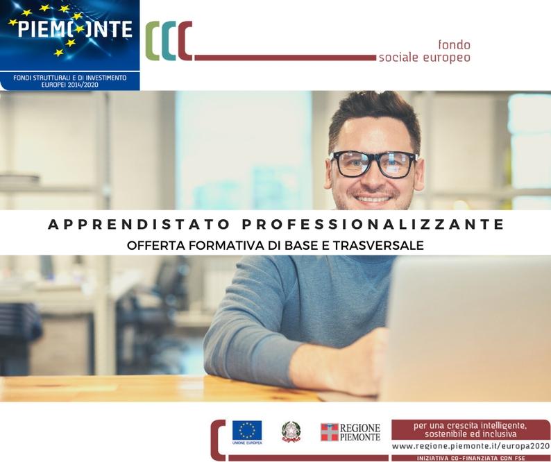 APPRENDISTATO PROFESSIONALIZZANTE (Regione Piemonte). Offerta formativa di base e trasversale
